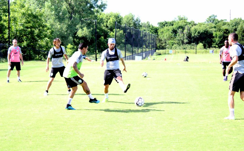 Sprint to the Season On as Energy FC Resume Full Contact Training